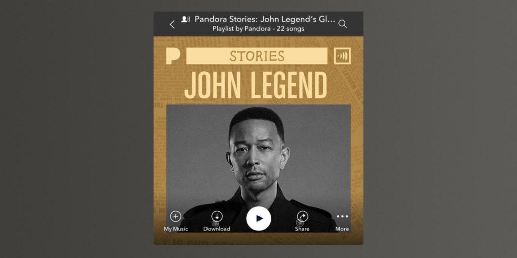 Pandora Stories
