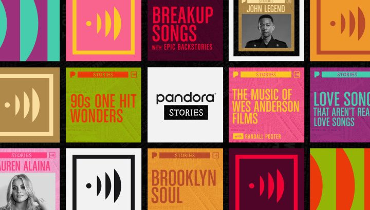 Pandora Launches Stories