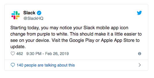 Slack Tweets The News
