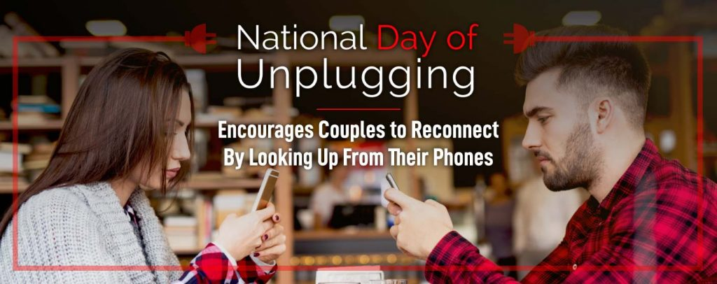 National Day Of Unplugging Encourages Face To Face Interactions