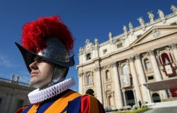 Swiss Guard Dons 3D Printed Helmet