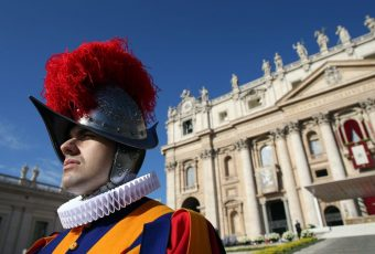 Swiss Guard Dons 3D Printed Helmet