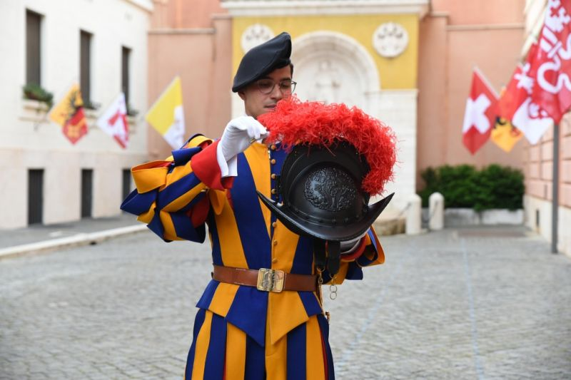 Swiss Guards New Helmets