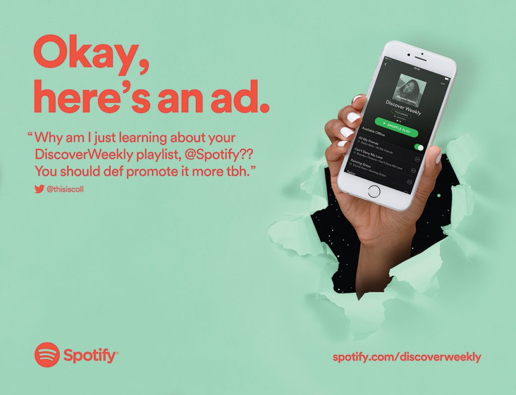 Spotify Is Known For Its Ad Campaigns