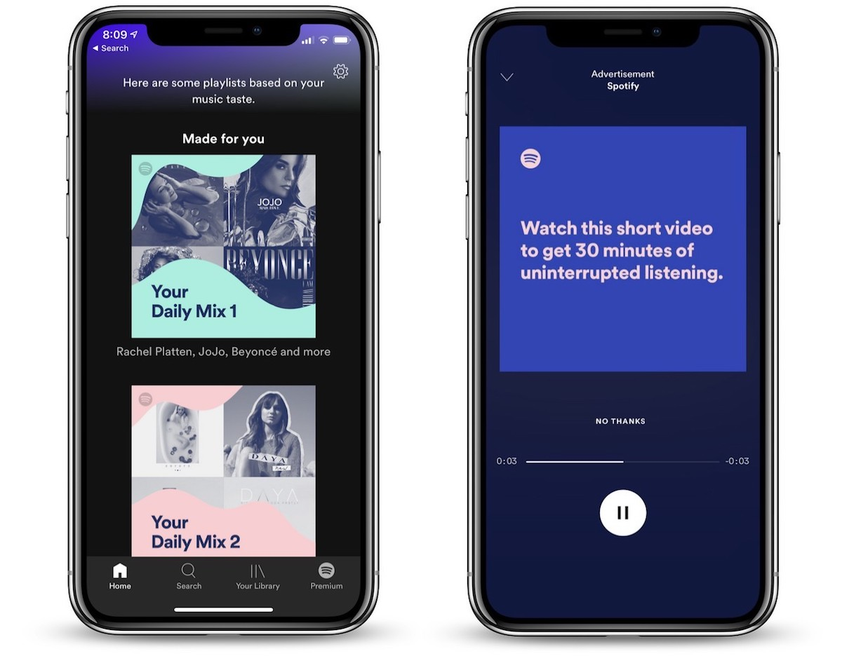 Spotify To Test New Voice Enabled Ads