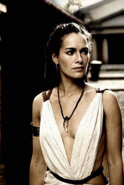 Lena Heady Plays The Fierce Spartan Queen Gorgo