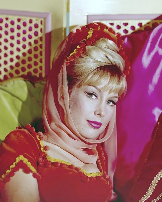 Barbara Eden As Jeanie