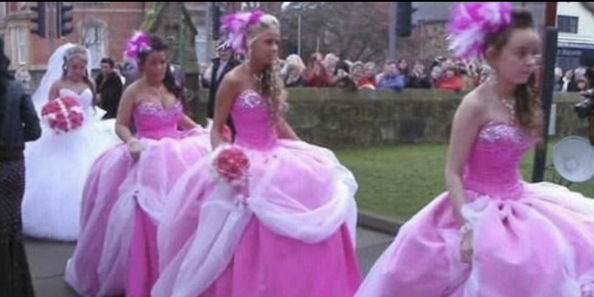 A Parade Of Bridesmaids
