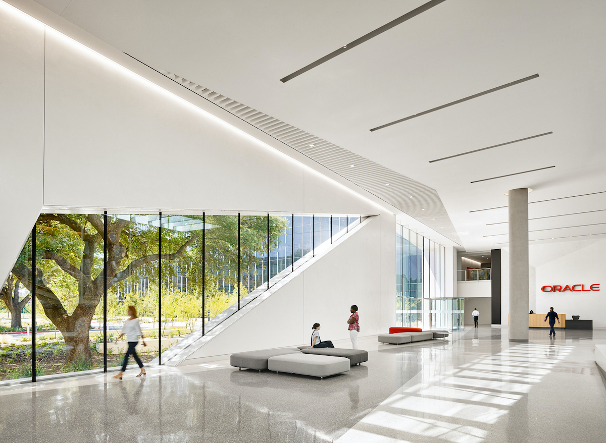 Oracle Austin Campus Interior
