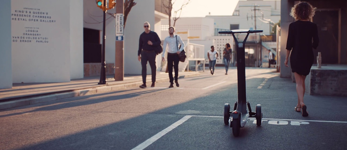 Scooters Will Eventually Be Able To Move To The Rider