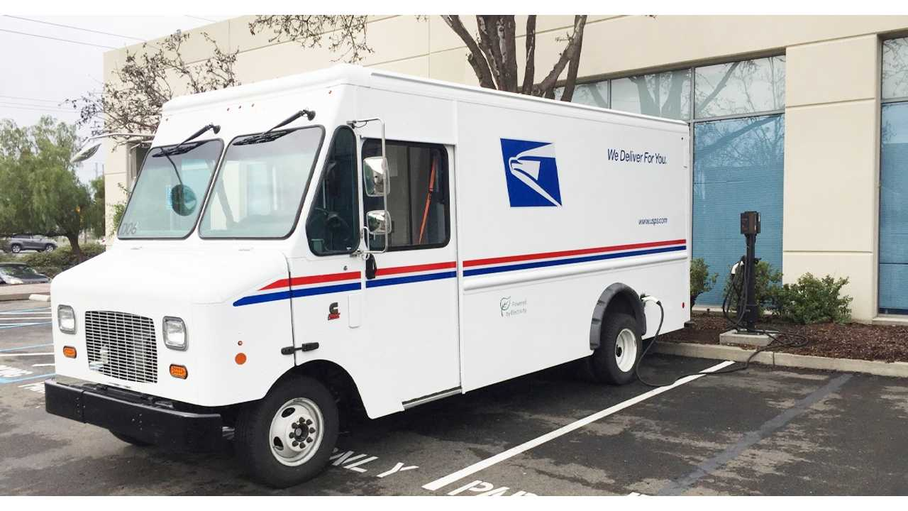 The New Electric USPS Truck