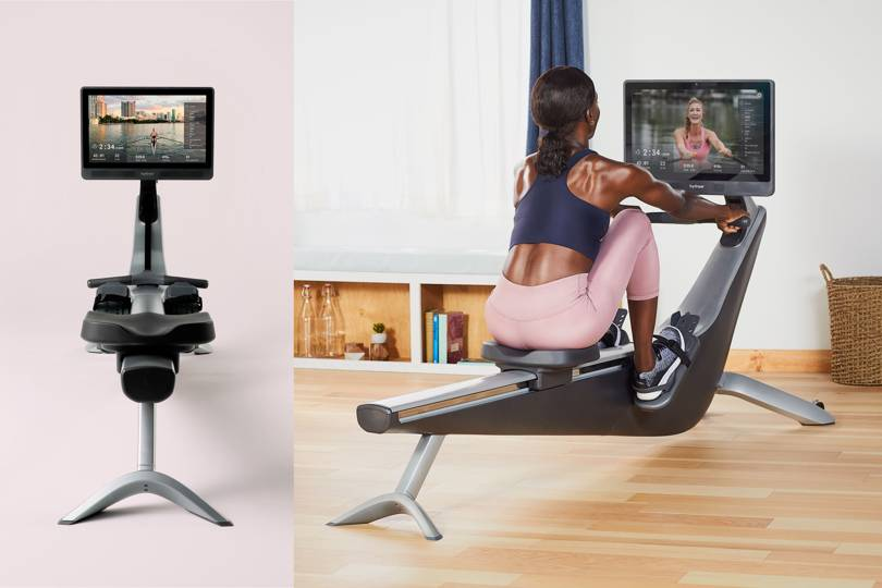 The Rower Has An HD Screen