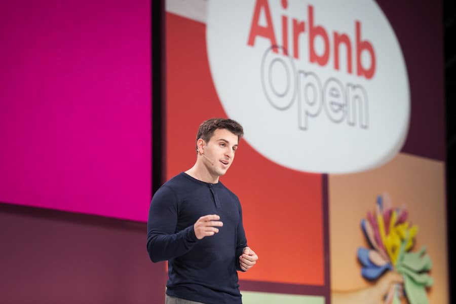 Brian Chesky, Airbnb's CEO