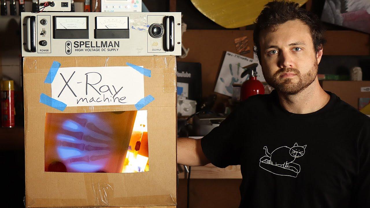 William Osman Made His Own X Ray Machine